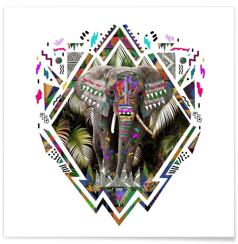 Elephants, Tembo Poster