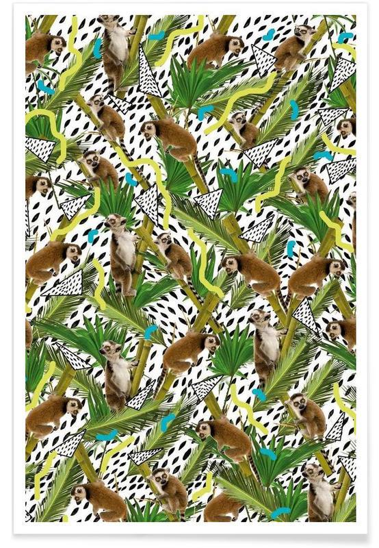 , Lemur affiche
