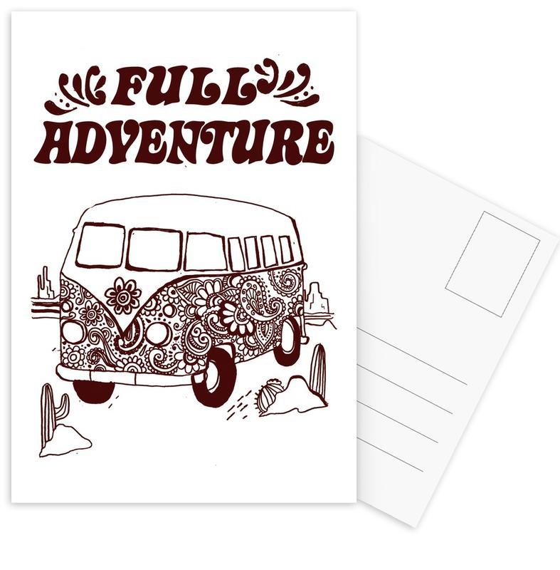 Full Adventure Postcard Set