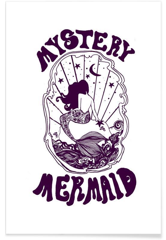 Mystery Mermaid Poster