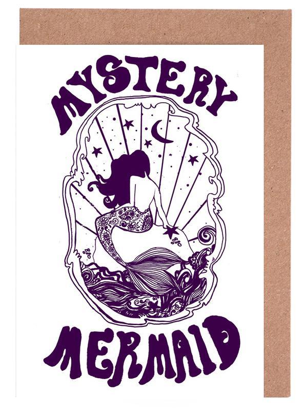 Créatures et hybrides, Mystery Mermaid cartes de vœux