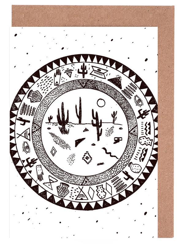 Noir & blanc, Déserts, Inside Deserts cartes de vœux