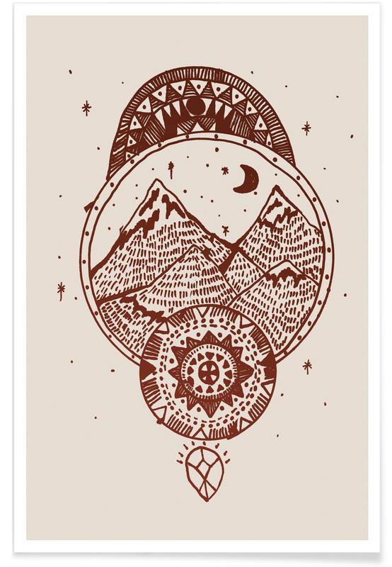 Montagnes, Stargazer affiche