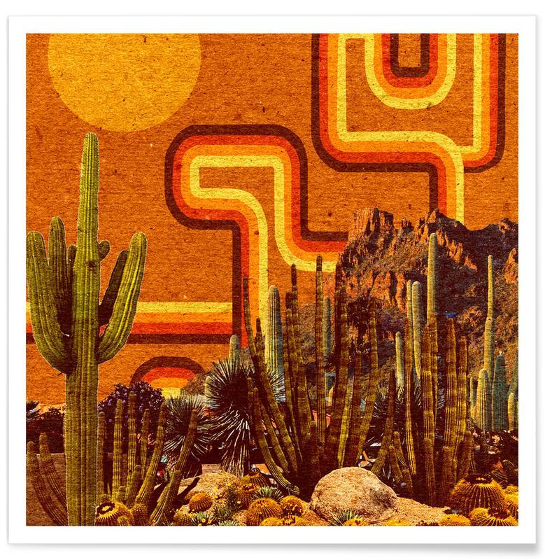 Rétro, Desert Lines affiche