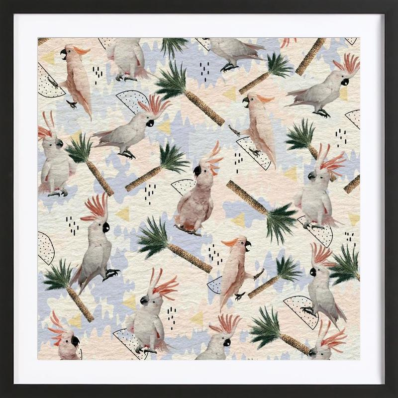 Cockatoos Framed Print