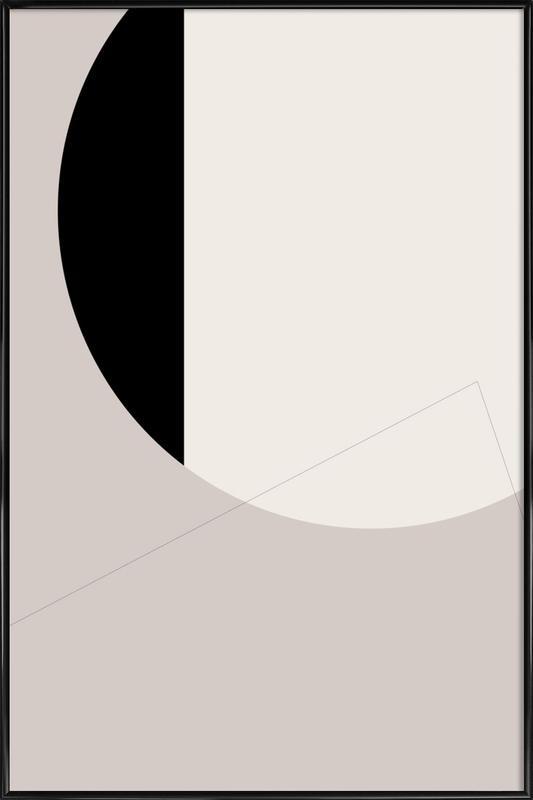Black Side Framed Poster