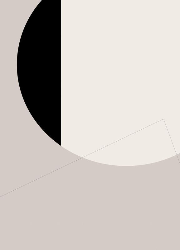Black Side -Leinwandbild