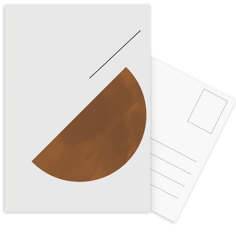 Half Cookie -Postkartenset