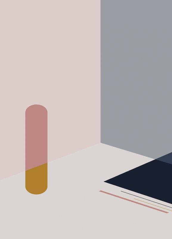 Separated 1 canvas doek