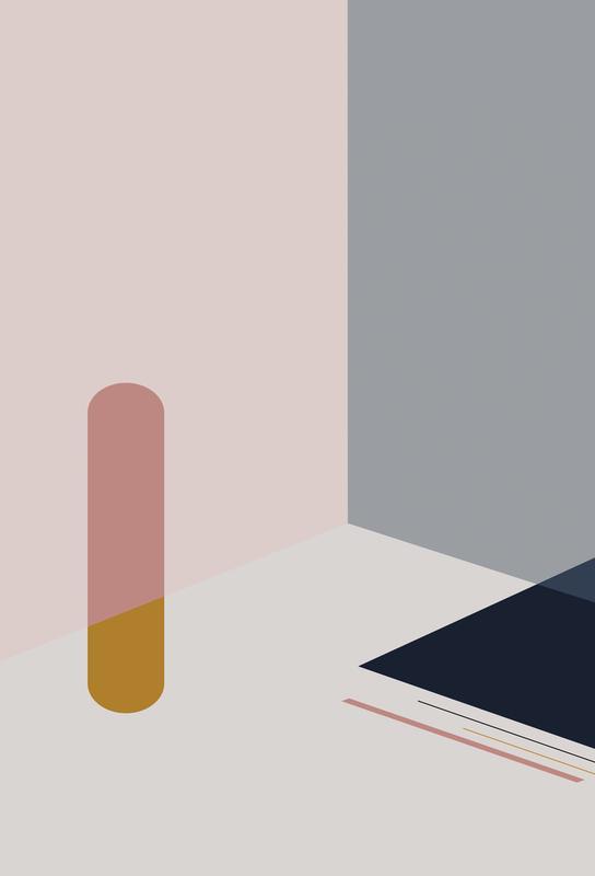 Separated 1 -Acrylglasbild