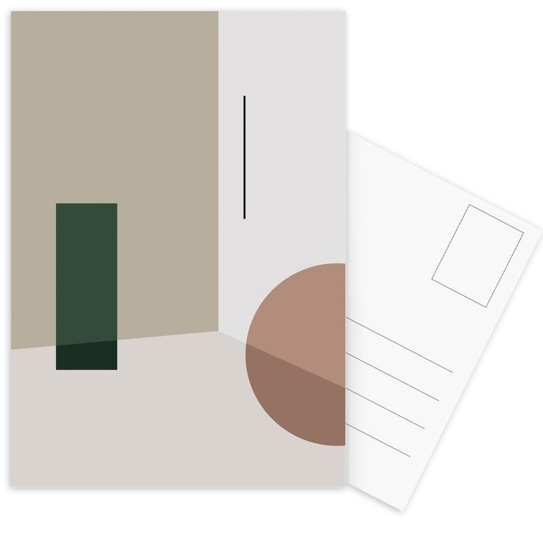 Separated 3 Postcard Set