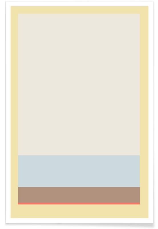 , Stripe Yellow 3 poster