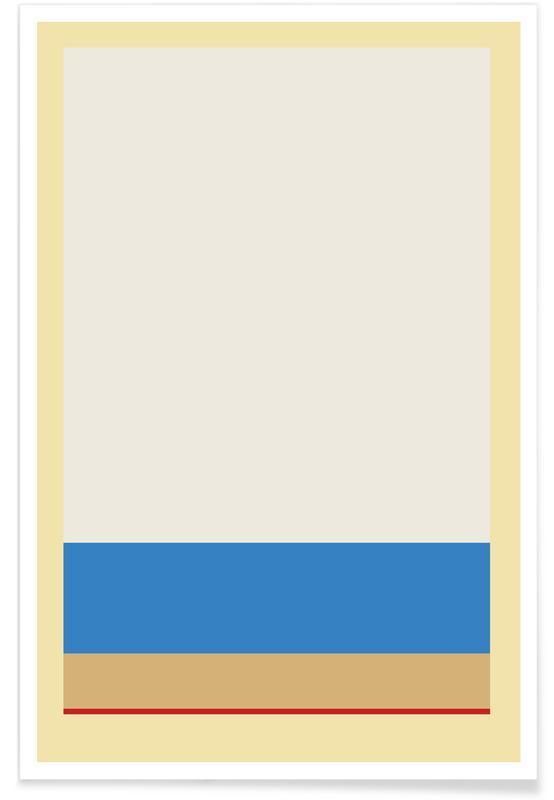 , Stripe Yellow 2 affiche