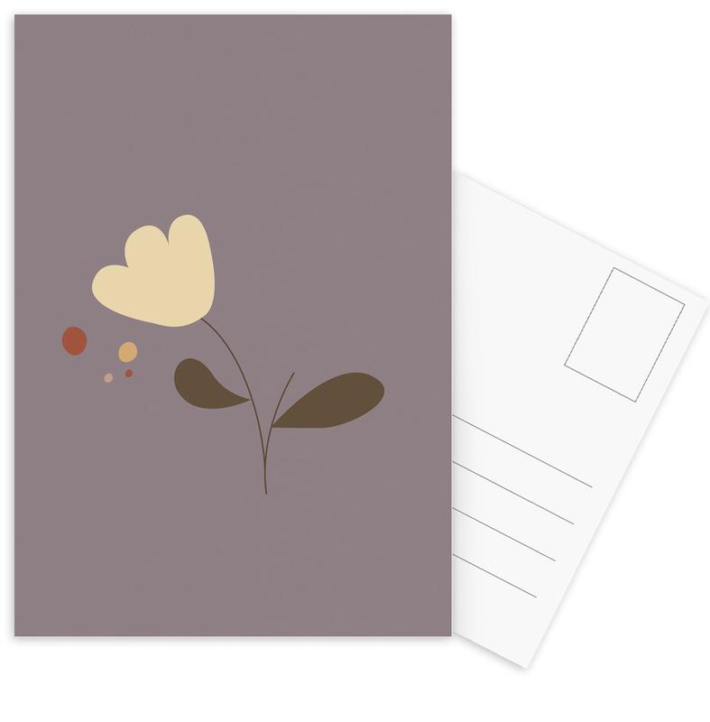 , Flower1 ansichtkaartenset