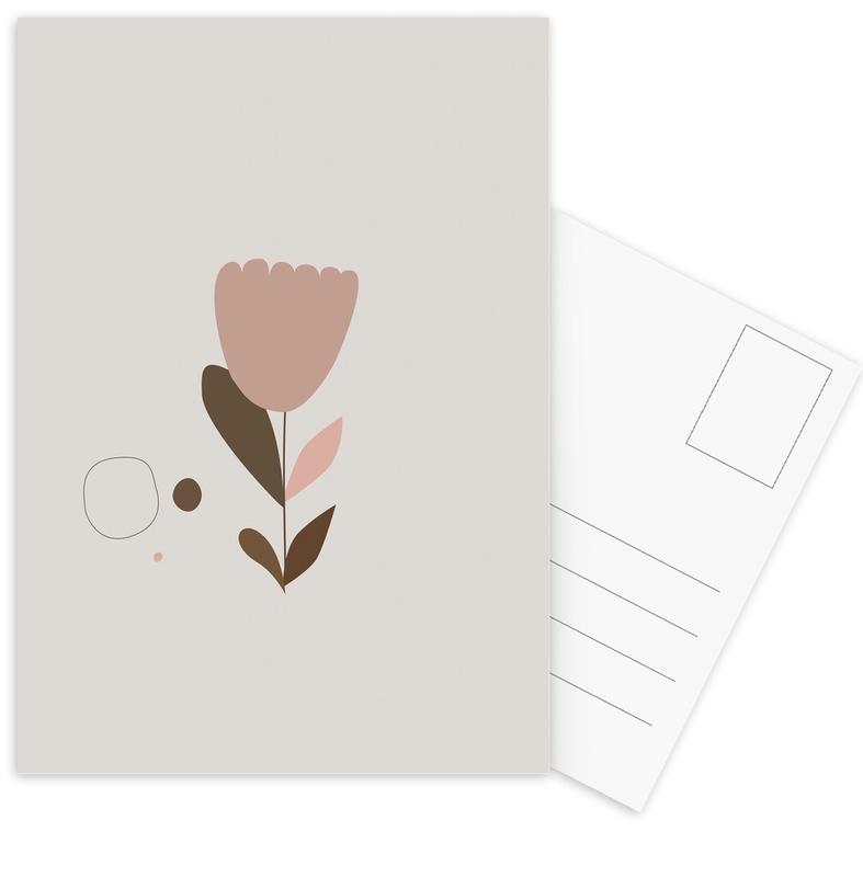 , Flower2 ansichtkaartenset