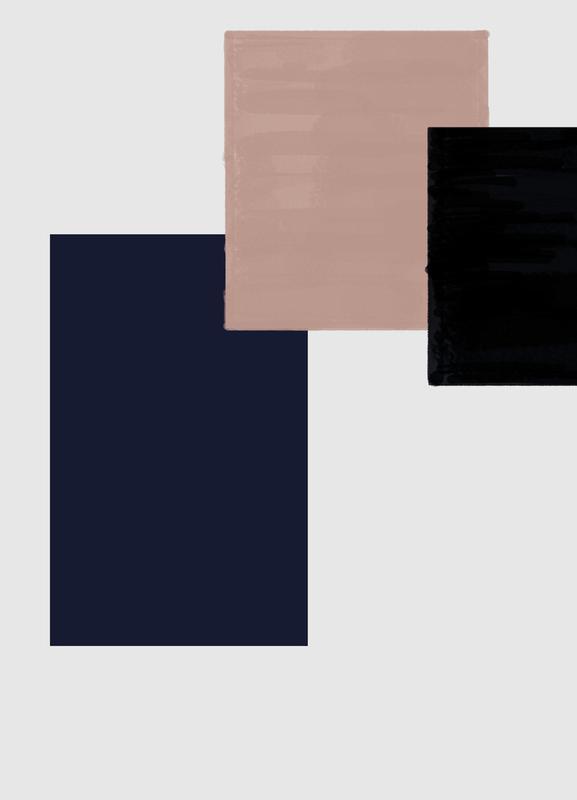Three Different Ones -Leinwandbild