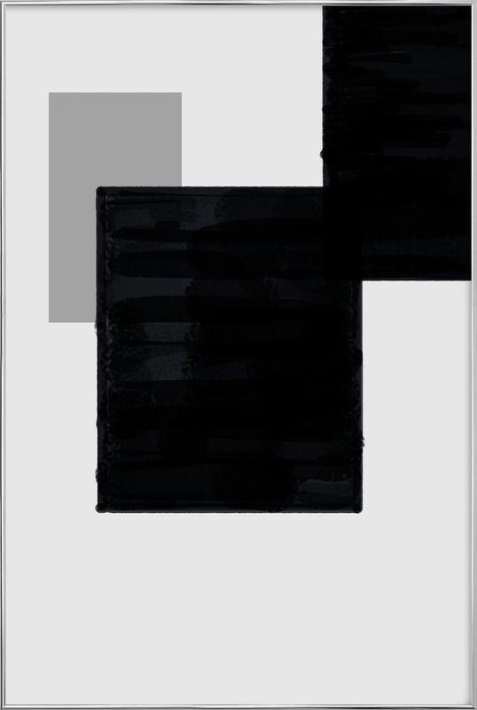 Dark and Brighter poster in aluminium lijst