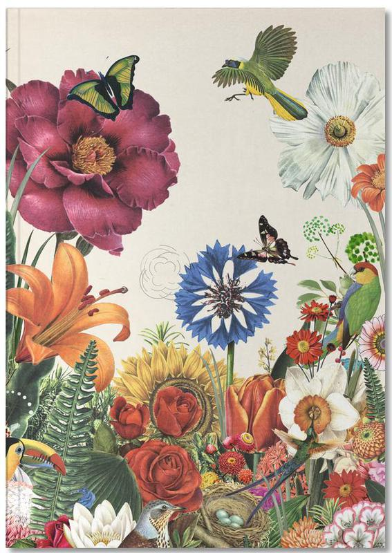 Garden Spring Flowers Notebook
