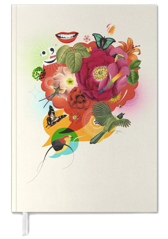 Nature Flowers Collage Personal Planner
