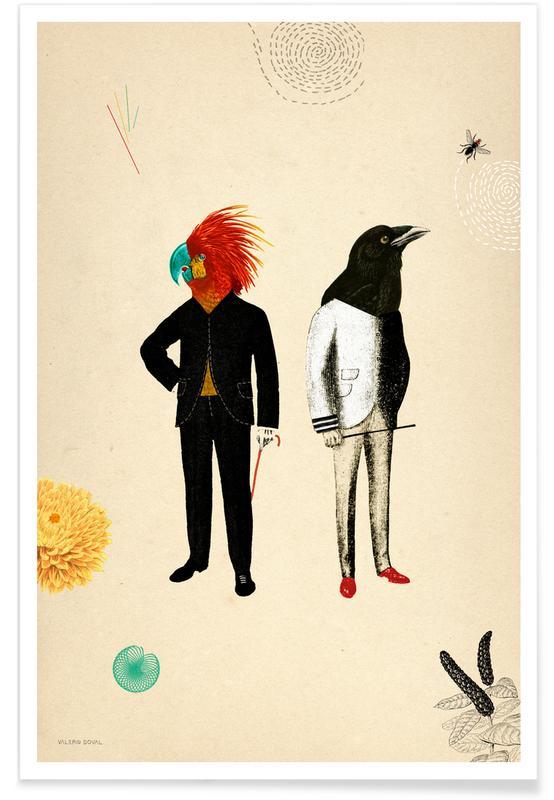Kunst voor kinderen, Retro, Good Looking poster