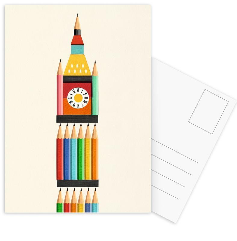 Big Ben London Postcard Set