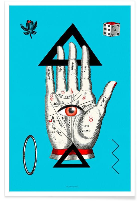 Dromerig, The Palm Reader Tarot Card poster