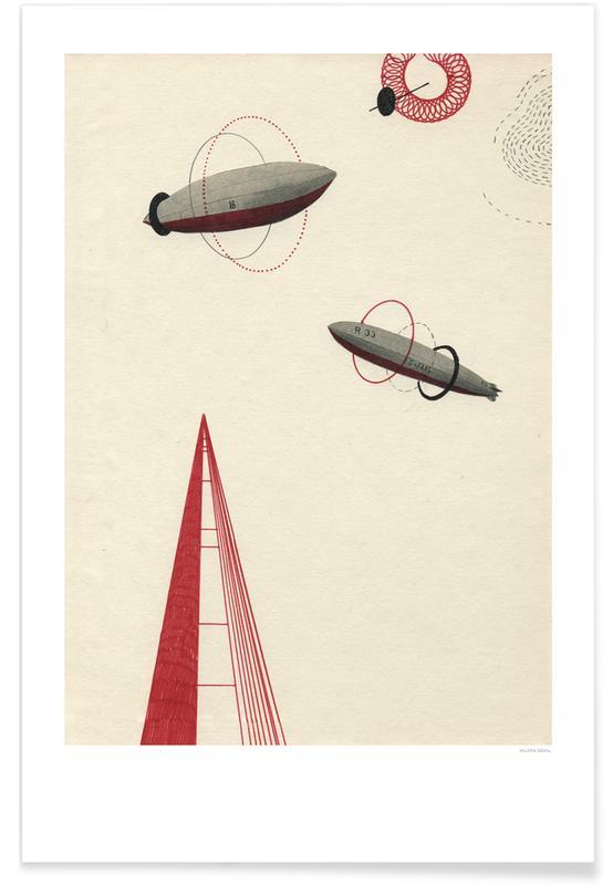 Retro, Zeppelin III poster