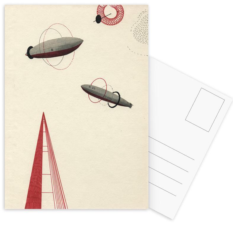 Zeppelin III Postcard Set