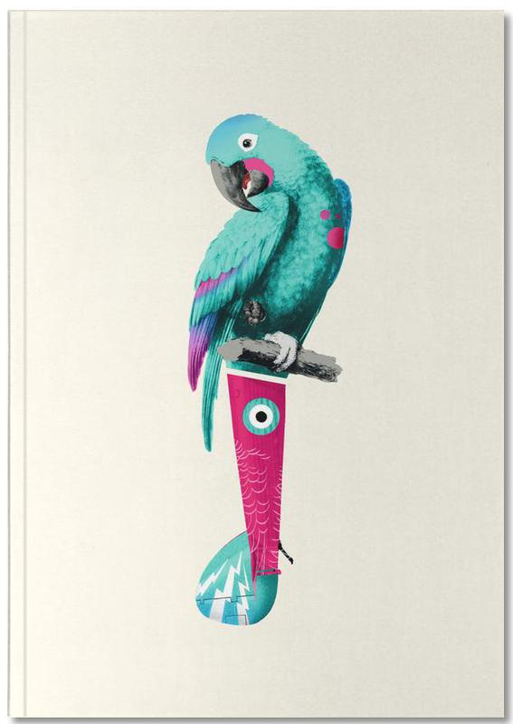 Nursery & Art for Kids, Parrots, Tropical Turquoise Parrot Notebook