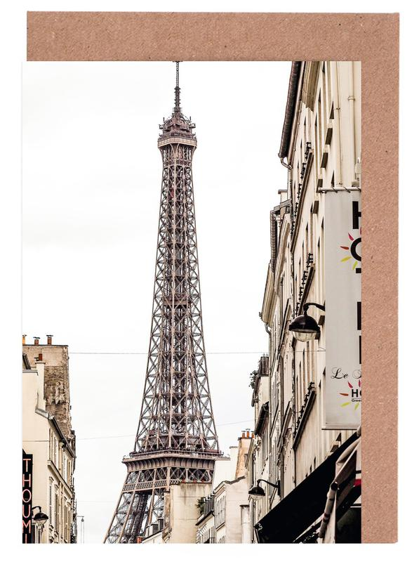 Street View Paris Greeting Card Set