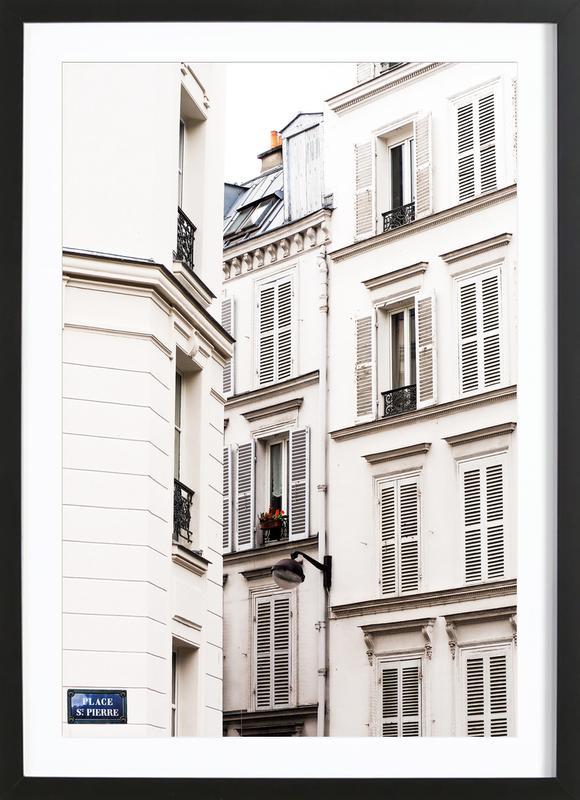 Windows Supreme -Bild mit Holzrahmen