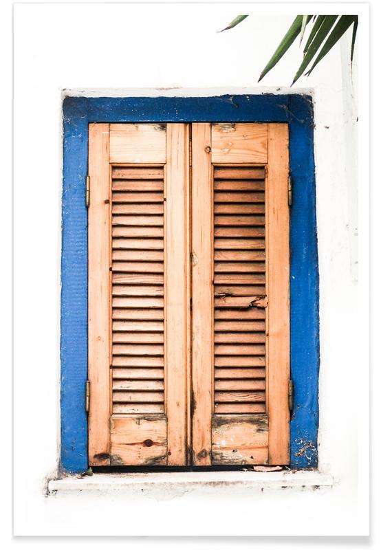 Architectonische details, Minimalist Window Architecture poster