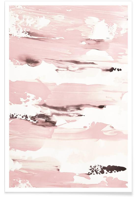 Patronen, Abstract Pink poster