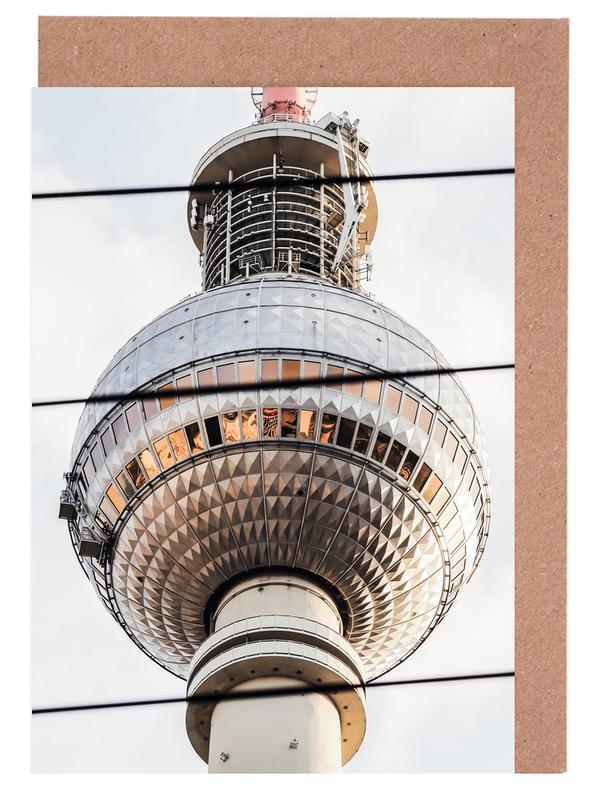 Berlin, Sights & Landmarks, Berlin Icon Greeting Card Set