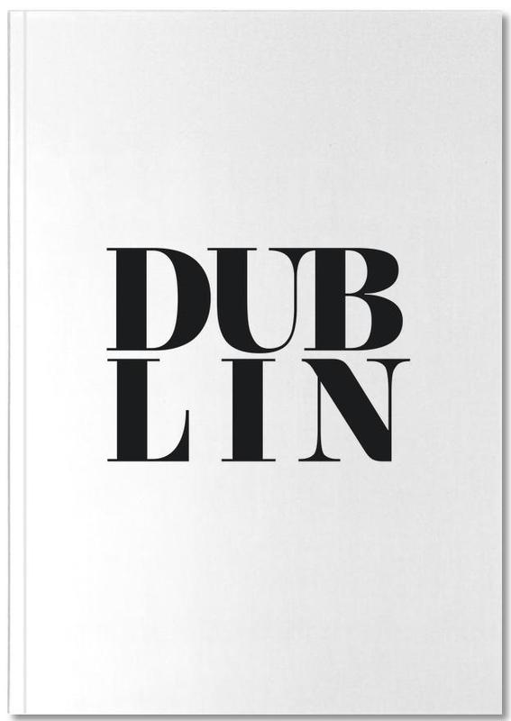 Noir & blanc, Dublin, DUBLIN Notebook