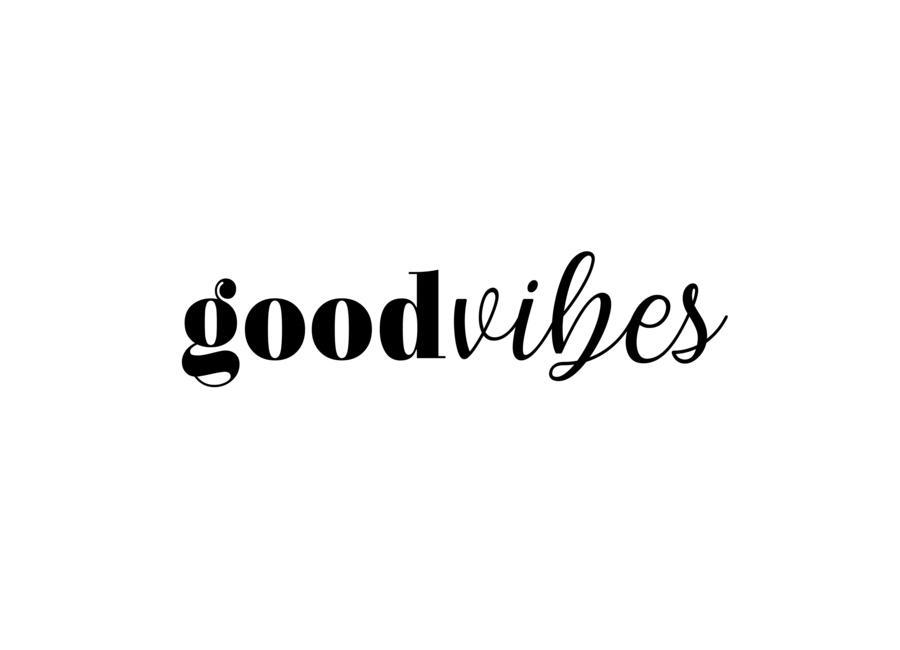GOODVIBES -Leinwandbild