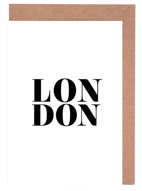 LONDON Greeting Card Set