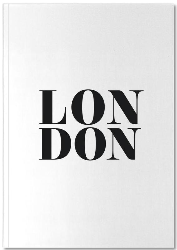 Londen, Zwart en wit, LONDON Notebook