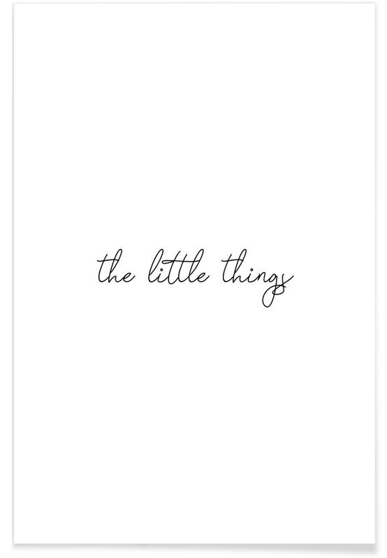 THE LITTLE THINGS -Poster