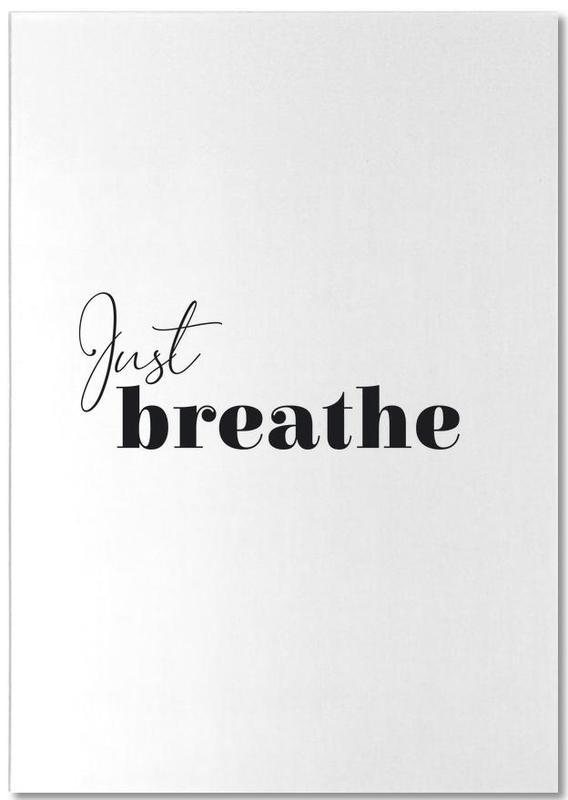 Yoga - Just Breathe Notepad