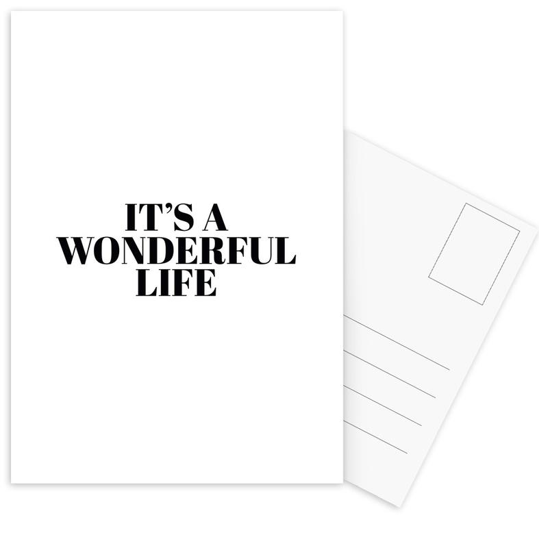 It'S A Wonderful Life -Postkartenset