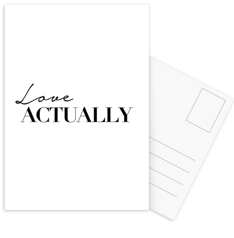 Love Actually -Postkartenset