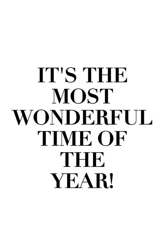 Wonderful Time Of The Year Aluminium Print