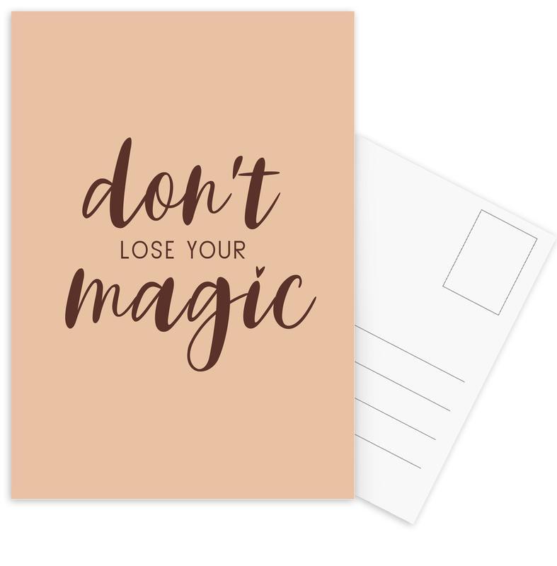 Don't Lose Your Magic -Postkartenset