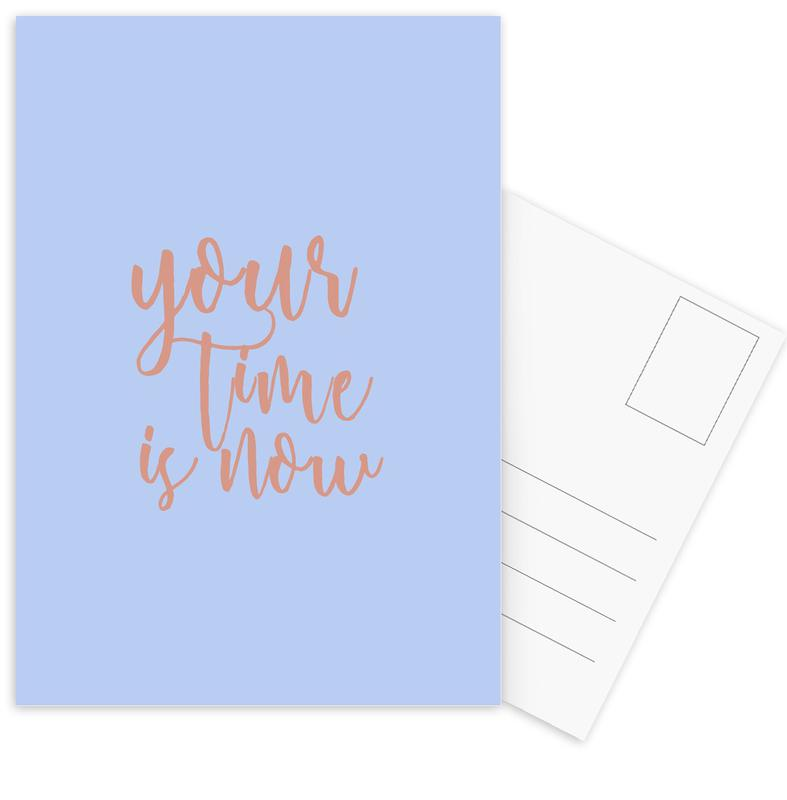 Your Time Is Now Postcard Set