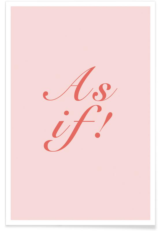 As If! affiche