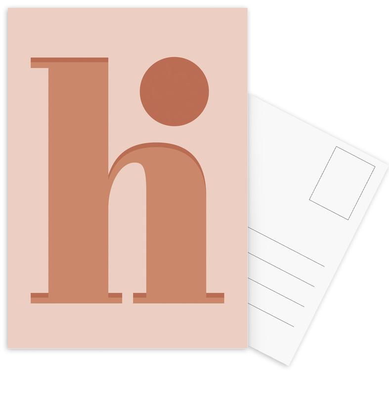 Hi -Postkartenset