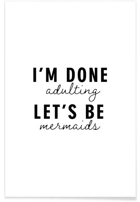 Let's Be Mermaids poster