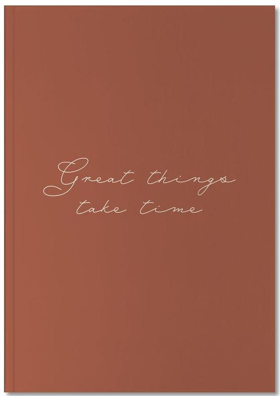 Motivation, Great Things Notebook