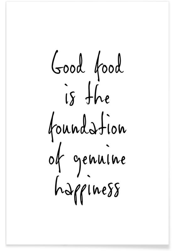 , Good Food Happiness -Poster